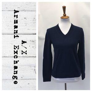 A\X Armani Exchange V neck sweater
